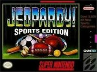 Jeopardy! Sports Edition Super Nintendo Game SNES Used Complete