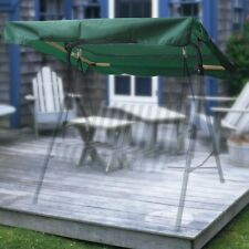 """72x53"""" Swing Canopy Cover Replacement Outdoor Garden Patio Porch Park Seat Top"""