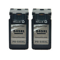 2PK Black Ink Cartridge for Canon PG 545XL 545 XL PIXMA MX495 MG2450 MG2550