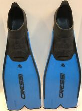 Cressi Rondinella Closed Foot Snorkeling Fins Made in Italy Size 35 36 2.5 3.5