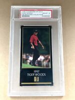 1998 Tiger Woods Champions of Golf Master Collection Base Card PSA 8 NM-MT RC