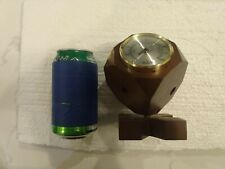 Vtg Jason Weather St Barometer, Thermometer, Humidity, Swivel Cube, Mid Century