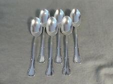 WMF 3200 Barock 6 Teelöffel 12,5 cm 90er Silberauflage Nr.1