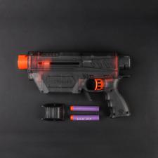 Worker Mod Prophecy Type-R Full-body Cover DIY Kits for Nerf Retaliator Black