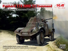 ICM 1/35 Panhard 178 AMD-35 Command,2ND GUERRE MONDIALE French manucure armé