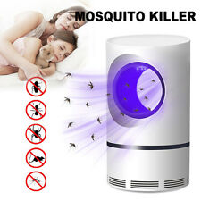 Electric Mosquito Killer Zapper USB LED Light Lamp Insect Bug Trap Pest Control