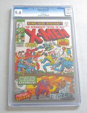 X-Men Annual #1 CGC 9.4 1970 WP! Wolverine! Avengers! Iron Man! E7 102 cm clean