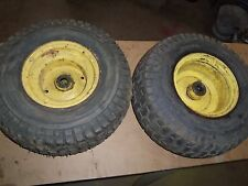 John Deere 420 Front Wheels, AM39600