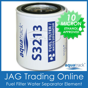 S3213 BOAT FUEL FILTER ELEMENT WATER SEPARATOR -Outboard/Inboard/Marine For Bowl