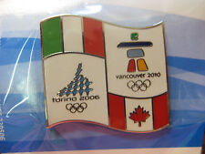 LOT of 50 PINS - Vancouver 2010 Olympics - Torino to Vancouver Pin