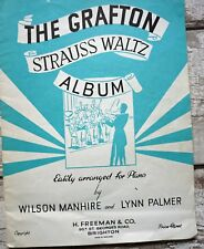 The Grafton Strauss Waltz  Album by Lynn Palmer & Wilson Manhire Sheet Music