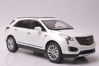 Cadillac XT5 car model in scale 1:18 white