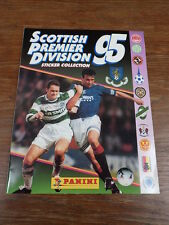 ALBUM PANINI SOCCER SCOTTISH LEAGUE SCOTLAND 95 1995 full / complete Mint