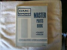 General Motors Master  Parts Book #X-153010 COACH CHASSIS TRANSIT PARLOR