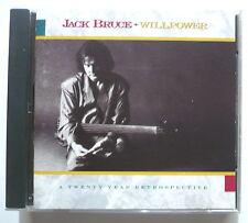JACK BRUCE - Willpower - A twenty year retrospective - US-CD