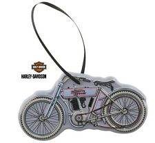Harley Davidson® 3D Embossed Vintage Motorcycle Tin Christmas Holiday Ornament