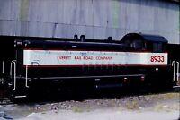 Original Slide Everett Railroad Company 8933 Switcher Sproul, PA 1985