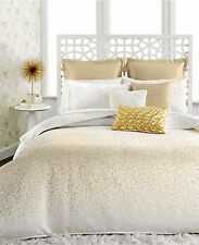 INC International Concepts Prosecco 4 Piece KING Comforter Set IVORY/GOLD C3065
