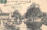 LUCENAY-L'ÉVÊQUE - Passerelle sur le Ternin