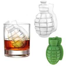 Grenade Shape Ice Cube Tray Silicone Novelty Mould -UK Stock - FREE P&P