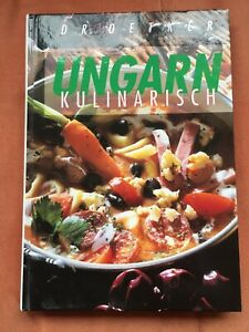 UNGARN kulinarisch, Kochbuch von Dr. Oetker - NEU