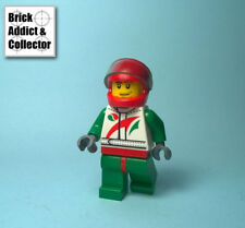 LEGO ® Personnage Figurine Minifig Pilote Race Car Driver Octan CTY435 60024