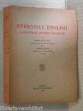 EVERYDAY ENGLISH A practical modern grammar Hilda M R Cox e Teresa Novi 1956 di