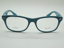 NEW Authentic Ray Ban RB 7032 5436 LITEFORCE Blue 50mm RX Eyeglasses