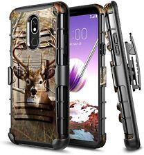 For LG Stylo 5/5V/5x/5 Plus Holster Case Armor Belt Clip Kickstand Phone Cover