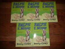 NEW Lot 5 copies RALPH S MOUSE Beverly Cleary GUIDED READING Lit Circle