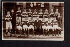 Wigan Grammar School (Rugby) 1st Team 1933 - real photographic postcard