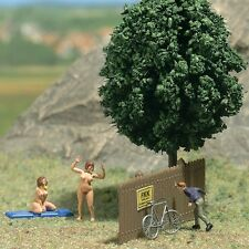 Busch Peeping Tom Admiring The Scenery 7669 HO Scale (suit OO Also)