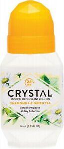 Crystal Roll-On Deodorant Chamomile & Green Tea 66ml