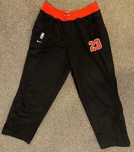 Michael Jordan #23 Chicago Bulls NBA Nike Warm Up Pants XL Authentic Tearaway
