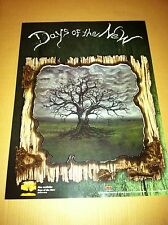 Tantric DAYS OF THE NEW 1999 PROMO POSTER for Days Of the New II CD USA MINT