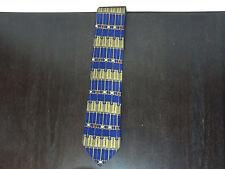 "Men's Art Deco Frank Lloyd Wright Necktie - ""Tree of Life"" - Signed"