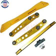 GOLD Rear Lower Control Arm Subframe Brace Tie Bar For Civic 92-95EG ACURA 04-01
