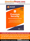 Avast Premium Security 2021 - 3 Devices - 1 Year - [Download]