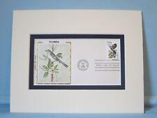 State Bird & Flower of Florida - Mockingbird & Orange Blossom & First Day Cover