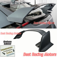 Type R Style Rear Trunk Spoiler Wing (ABS) Fits 17-18 Civic 5dr Hatchback