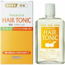 Yanagiya hair tonic citrus hair growth 240ml
