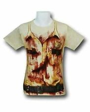 Authentic The Walking Dead Rick Police Uniform Costume Adult T Tee Shirt Xl