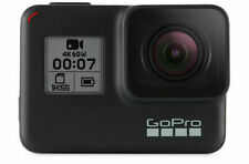 GoPro Hero7 Black 32GB Camera - Black with 32GB MicroSD Card and Adhesive Mounts