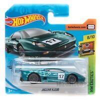 Jaguar XJ220 Green, 2020 Hot Wheels scale 1:64, model toy car gift