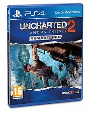 Uncharted 2: Among Thieves Remastered (PS4) BRAND NEW SEALED