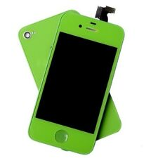 iPhone 4 Touch Screen LCD Display Full Assembly & Back Cover luminous green
