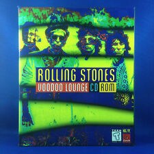 ROLLING STONES: Voodoo Lounge  CD INTERACTIVE ROM (RARE 1995 OUT OF PRINT)
