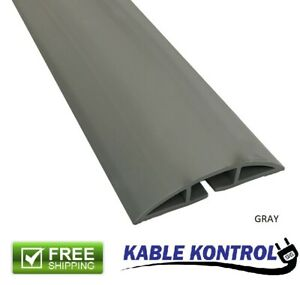 """Kable Kontrol - Floor Cord Cover Kit - Double Sided Tape - 3"""" Wide"""