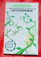 Salvinorin Psychedelic Essence of Salvia Divinorum Mazatec Indian Shamanic Plant