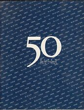 DCIEM 50  First Fifty Years 1939-1989 Defence Civil Institute Canad Aviation